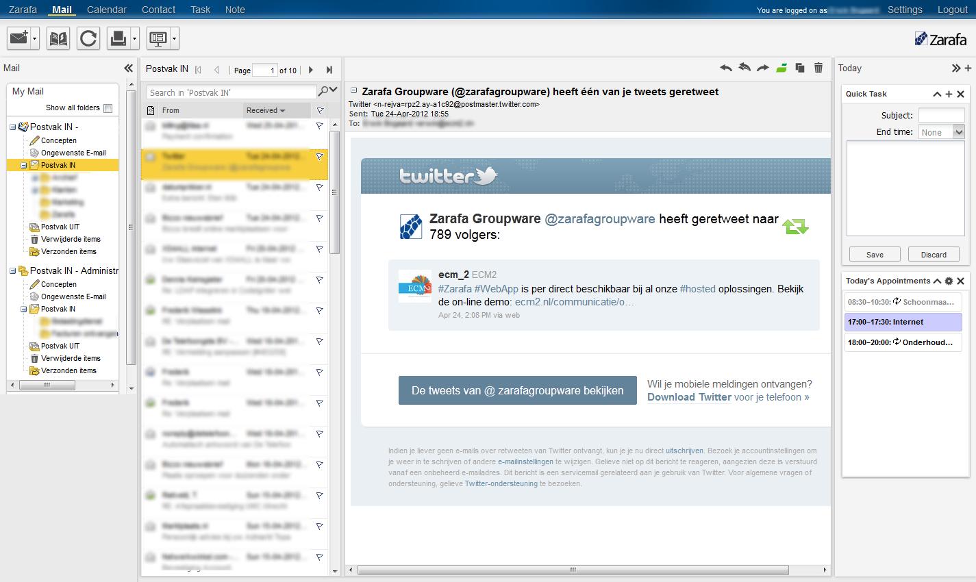 WebApp E-mail